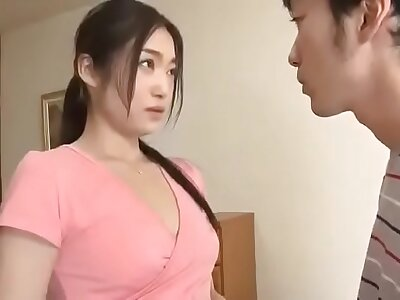 Japanese comely stepmom. Confederate with full: bit.ly/JPAVXXX206