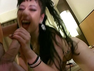 Layman anal film over with spanish assed girl