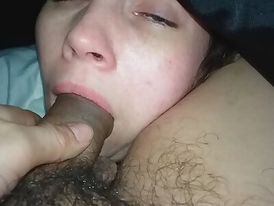Wife sluggish blowjob 6